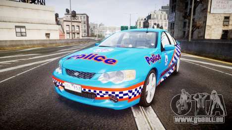Ford Falcon BA XR8 Police [ELS] pour GTA 4