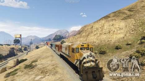 GTA 5 Railroad Engineer 3 deuxième capture d'écran