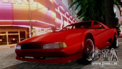 Cheetah New Edition für GTA San Andreas