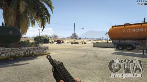 GTA 5 Battlefield 4 CZ805 quatrième capture d'écran