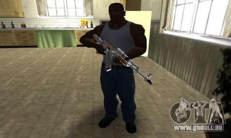 AK-47 Asiimov für GTA San Andreas dritten Screenshot
