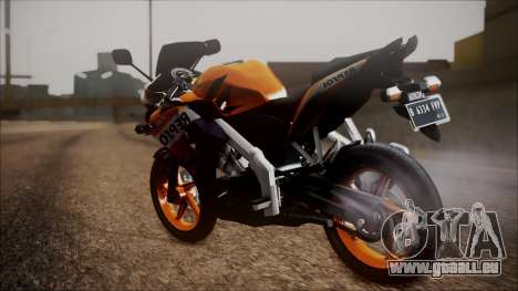 Honda CBR150R Repsol CBU pour GTA San Andreas laissé vue