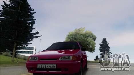 2114 Stoke pour GTA San Andreas sur la vue arrière gauche