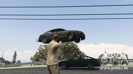 GTA 5 Gravity Gun 1.5 septième capture d'écran