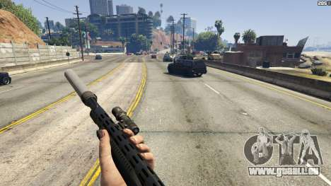 Stand On Moving Cars pour GTA 5