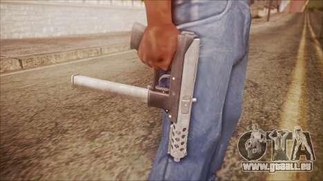 TEC-9 v2 from Battlefield Hardline für GTA San Andreas dritten Screenshot