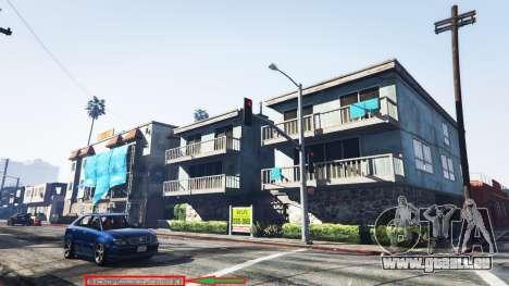 GTA 5 Anzeige der Position des Spielers v1.06 dritten Screenshot