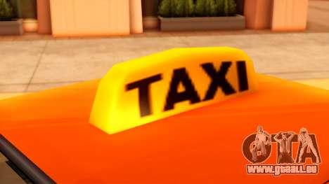 Taxi Intruder pour GTA San Andreas vue de droite