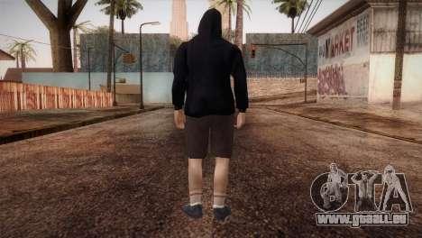 Söldner-mafia in der Kapuze und Maske für GTA San Andreas dritten Screenshot