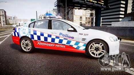 Holden Commodore SS Highway Patrol [ELS] für GTA 4 linke Ansicht