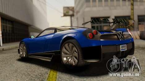 Pegassi Osyra Extra 1 für GTA San Andreas linke Ansicht