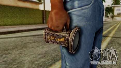 Forensic Flashligh from Silent Hill Downpour pour GTA San Andreas troisième écran