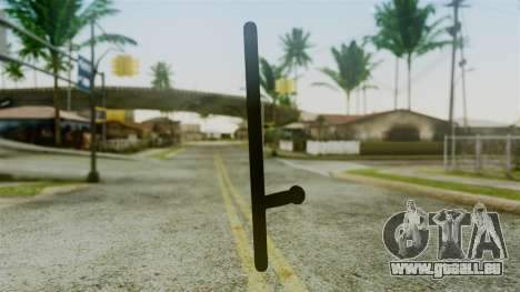 Police Baton from Silent Hill Downpour v2 für GTA San Andreas zweiten Screenshot