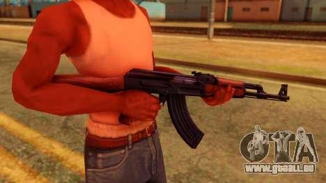 Atmosphere AK47 pour GTA San Andreas troisième écran