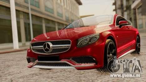 Mercedes-Benz S63 Coupe pour GTA San Andreas