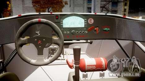 Radical SR8 RX 2011 [8] pour GTA 4 est une vue de l'intérieur
