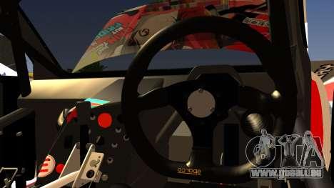 Subaru Impreza 2003 Love Live Muse Team Itasha für GTA San Andreas Innenansicht