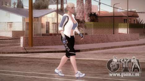 Endurance Cassie Cage from Mortal Kombat X pour GTA San Andreas