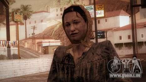 RE4 Maria für GTA San Andreas