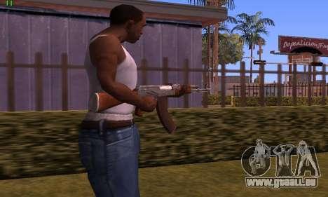 AK-47 from Battlefield Hardline pour GTA San Andreas deuxième écran