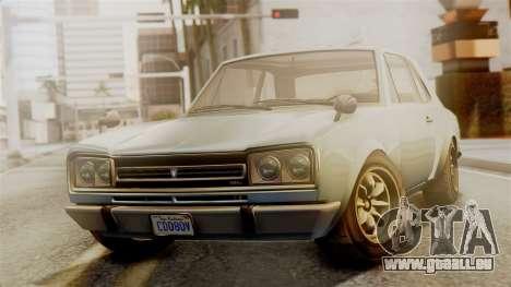 Vulcar Warrener GT 1500 (CT1) pour GTA San Andreas