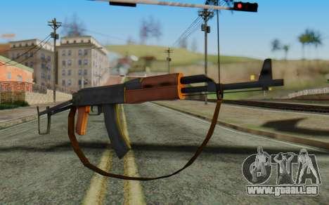 AK-47S with Strap für GTA San Andreas