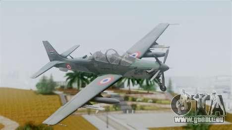 Embraer EMB-314 Super Tucano (FAP) pour GTA San Andreas