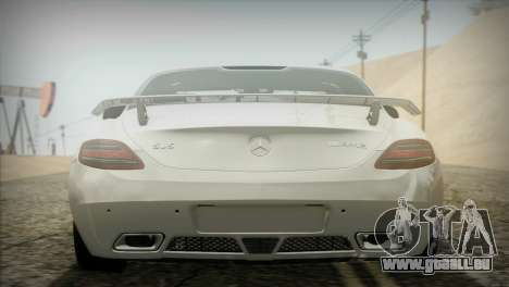 Mercedes-Benz SLS AMG 2013 für GTA San Andreas Rückansicht
