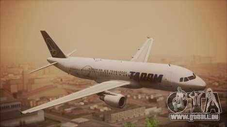 Airbus A320 TAROM Romania pour GTA San Andreas
