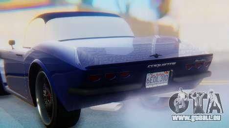 Invetero Coquette BlackFin v2 GTA 5 Plate pour GTA San Andreas moteur