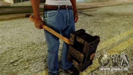 Bogeyman Hammer from Silent Hill Downpour v1 pour GTA San Andreas deuxième écran
