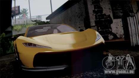 GTA 5 Progen T20 IVF pour GTA San Andreas