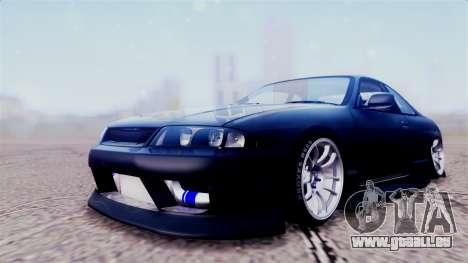 Nissan Skyline ER33 pour GTA San Andreas vue arrière