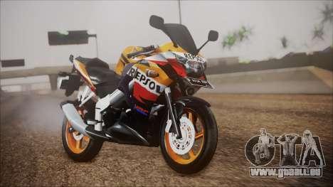 Honda CBR150R Repsol CBU pour GTA San Andreas