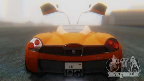 GTA 5 Pegassi Osiris SA Style für GTA San Andreas Innenansicht