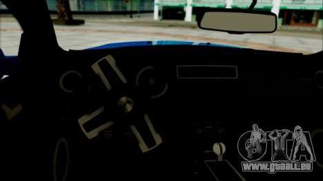 Ford Mustang GT Modification für GTA San Andreas zurück linke Ansicht