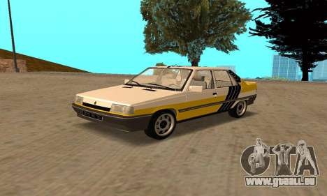 Renault 9 TSE 1992 pour GTA San Andreas salon