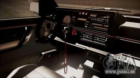 Volkswagen Golf Mk2 Schmidt TH Line pour GTA San Andreas vue de droite