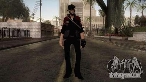 Christian Brutal Sniper from TF2 pour GTA San Andreas deuxième écran