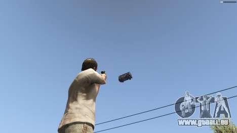GTA 5 Gravity Gun 1.5 huitième capture d'écran