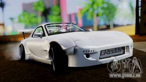 Mazda RX-7 (FD) für GTA San Andreas linke Ansicht