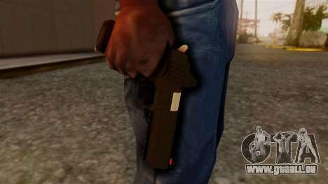 Heavy Pistol GTA 5 pour GTA San Andreas troisième écran