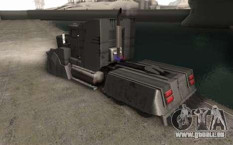 Die Mad-Max-LKW für GTA San Andreas linke Ansicht