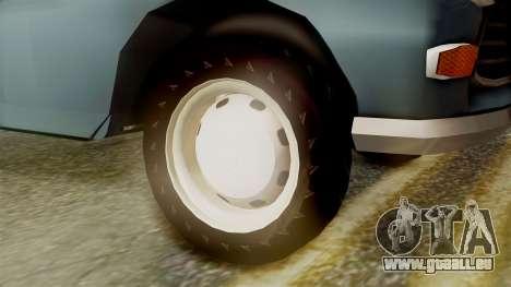 Peugeot 404 pour GTA San Andreas sur la vue arrière gauche
