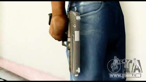 Pistol from Crysis 2 für GTA San Andreas dritten Screenshot