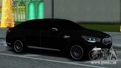 Kia Quoris pour GTA San Andreas sur la vue arrière gauche