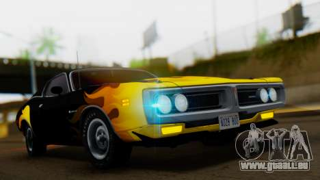 Dodge Charger Super Bee 426 Hemi (WS23) 1971 IVF pour GTA San Andreas vue de côté