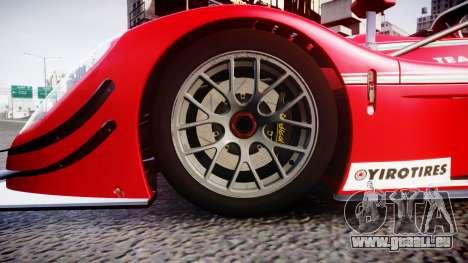 Radical SR8 RX 2011 [6] für GTA 4 Rückansicht