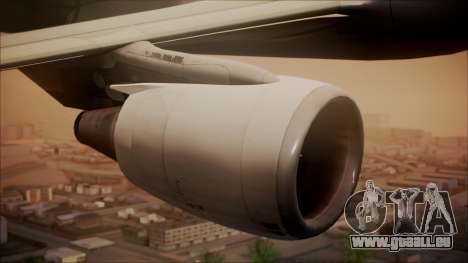 Airbus A320 TAROM Romania pour GTA San Andreas vue de droite
