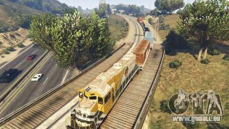GTA 5 Railroad Engineer 3 sixième capture d'écran